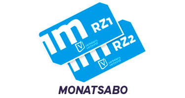 Abonnement mensuel RegioZone
